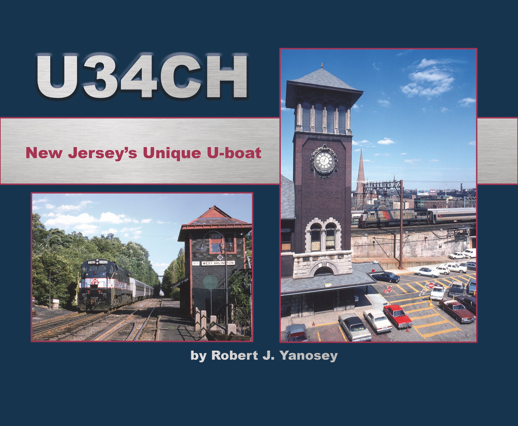 U34CH New Jersey's Unique U-boat (Softcover)<br><i><small>Available January 5, 2018</small></i>