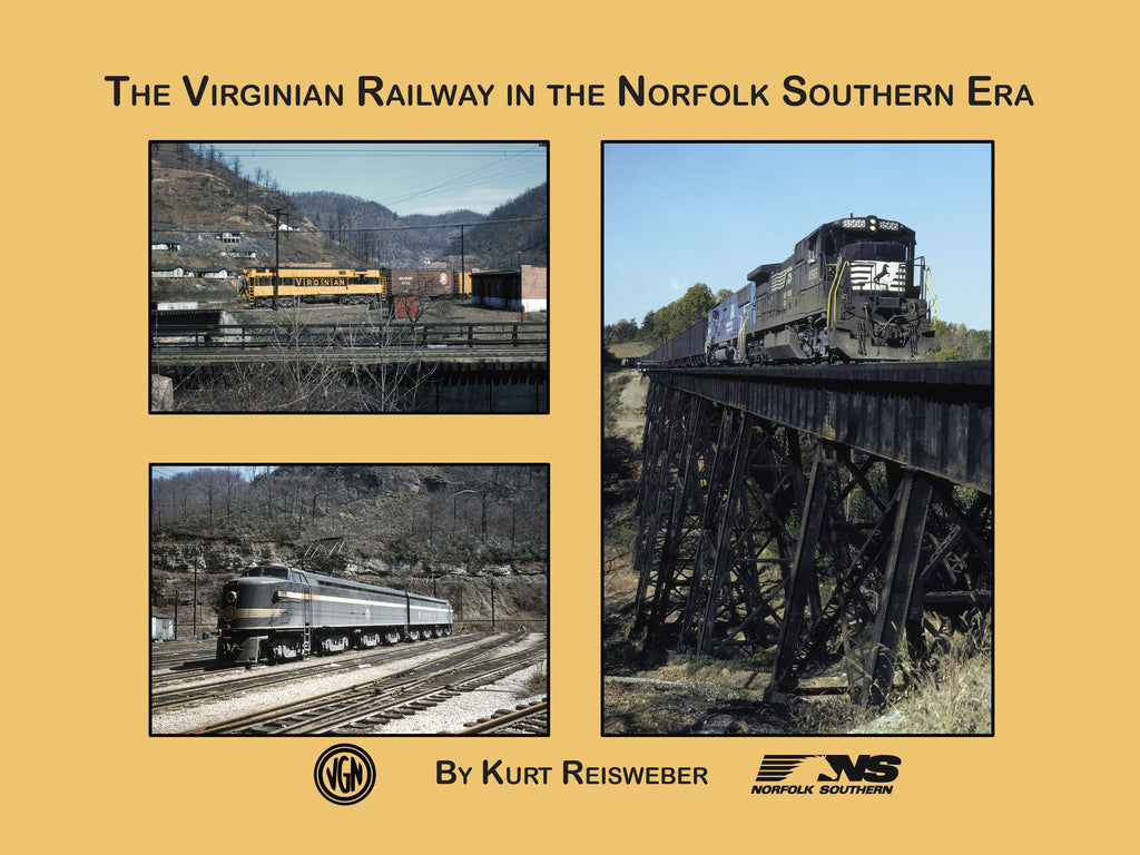 The Virginian Railway in the Norfolk Southern Era (eBook)