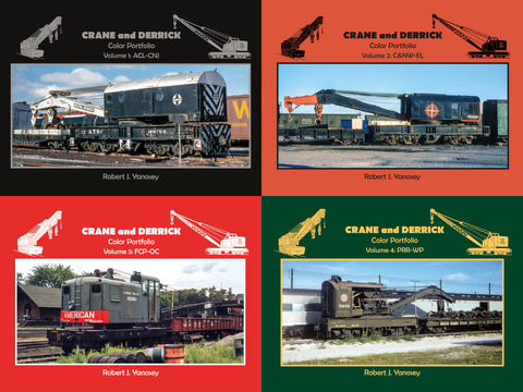 Crane and Derrick Color Portfolio Volumes 1-4 Bundle (eBooks)