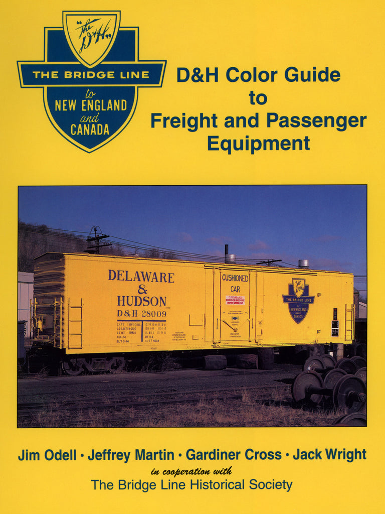 D & H Color Guide to Freight and Passenger Equipment