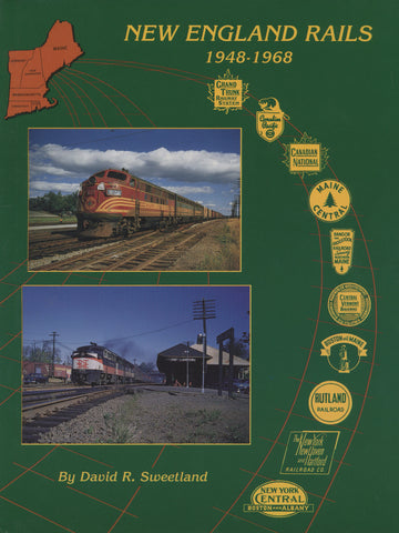 New England Rails 1948-1968 (Digital Reprint)