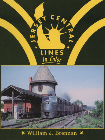 Jersey Central Lines In Color (Digital Reprint)