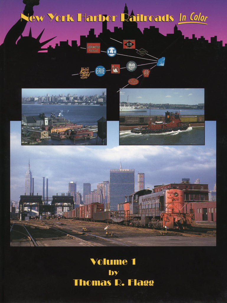 New York Harbor Railroads In Color Volume 1 (Digital Reprint)