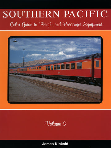 Southern Pacific Color Guide to Freight and Passenger Equipment Volume 3 (Digital Reprint)