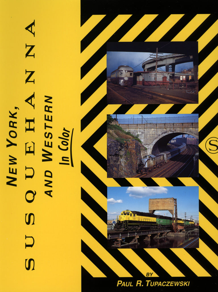 New York, Susquehanna and Western In Color (Digital Reprint)