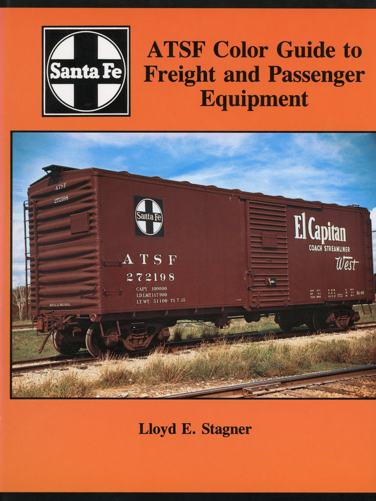 ATSF Color Guide to Freight and Passenger Equipment (Digital Reprint)