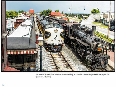 Strasburg Rail Road - A Photographic Tribute  (eBook)
