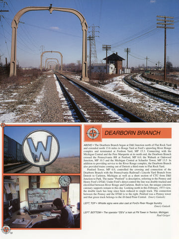 Detroit, Toledo and Ironton Railroad In Color (Digital Reprint)