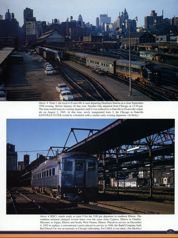 Chicago & Eastern Illinois Railroad In Color (Digital Reprint)
