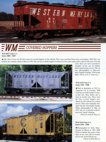WM Color Guide to Freight and Passenger Equipment (Digital Reprint)