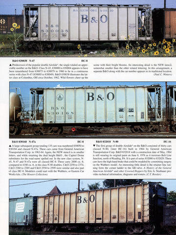 B&O Color Guide to Freight and Passenger Equipment (Digital Reprint)