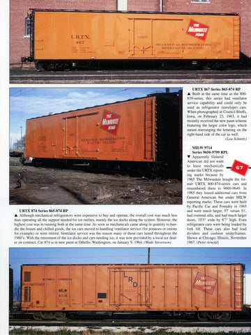 Milwaukee Road Color Guide to Freight and Passenger Equipment Volume 2 (Digital Reprint)