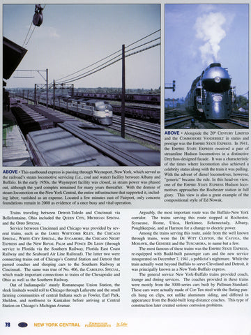 New York Central Through Passenger Service Volume 1: Hope and Glory 1943-1950 (Digital Reprint)