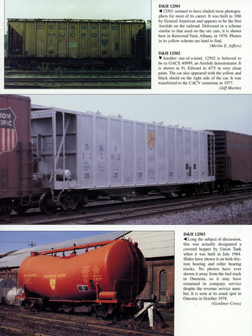 D&H Color Guide to Freight and Passenger Equipment (Digital Reprint)