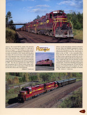 Duluth Missabe and Iron Range Railway (Digital Reprint)