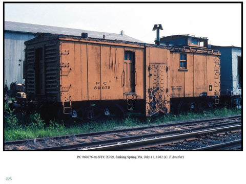 Penn Central Maintenance of Way Equipment Color Portfolio  (eBook)