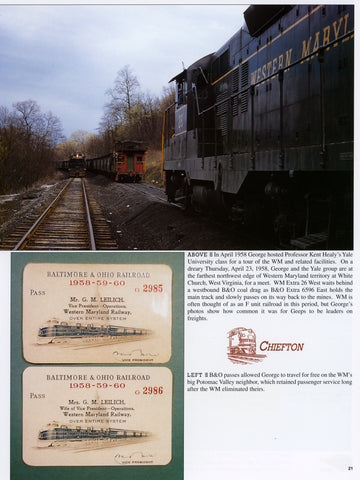 Western Maryland Trackside with George M. Leilich (Digital Reprint)