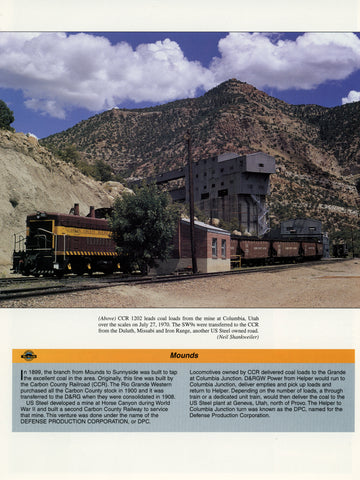 Rio Grande In Color Volume 2: Utah (Digital Reprint)
