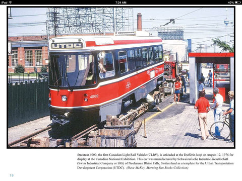 Toronto Transit Commission Streetcars (eBook)