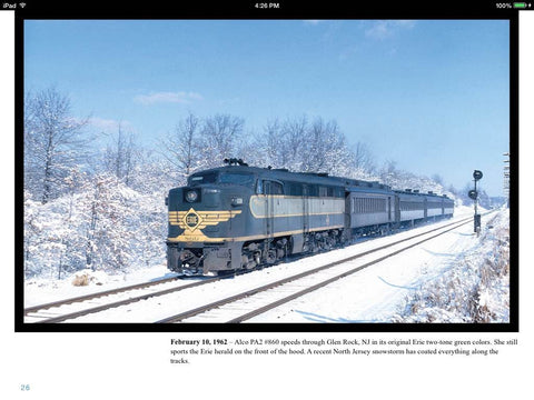 Erie Lackawanna Color Photography of Robert F. Collins, Volume 1: 1960s (eBook)