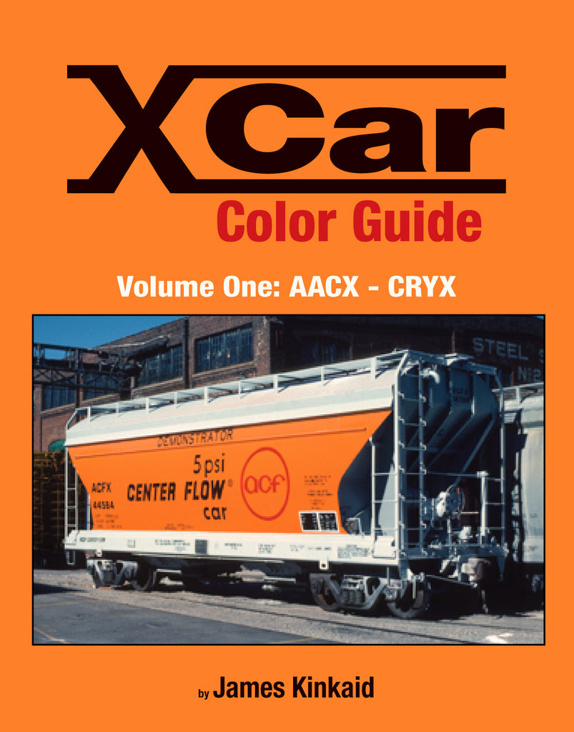 X Car Color Guide Volume 1: AACX-CRYX