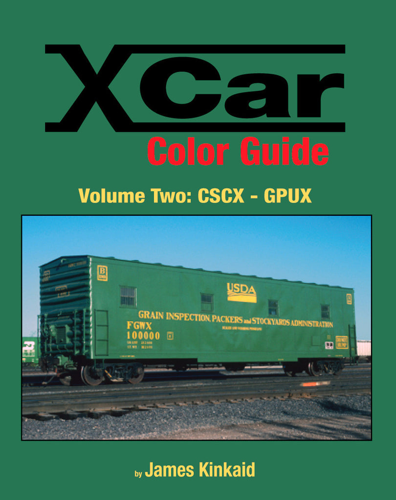 X Car Color Guide Volume 2: CSCX-GPUX