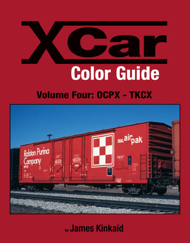 X Car Color Guide Volume 4: OCPX-TKCX