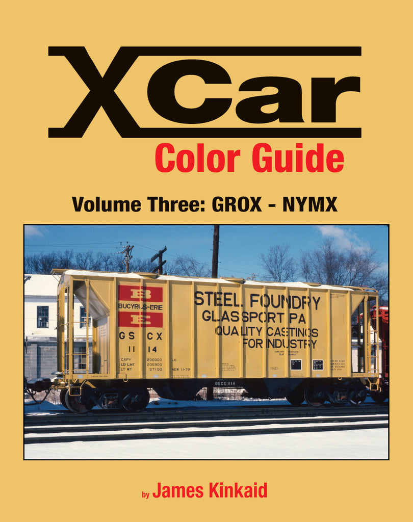 X Car Color Guide Volume 3: GROX-NYMX