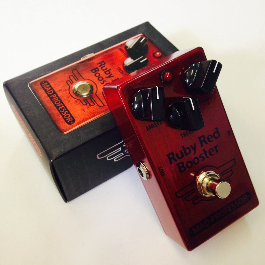 Mad Professor Ruby Red Booster  Red/Blk