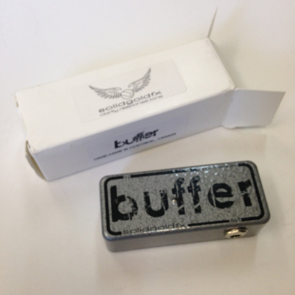 solidg Buffer  Silver