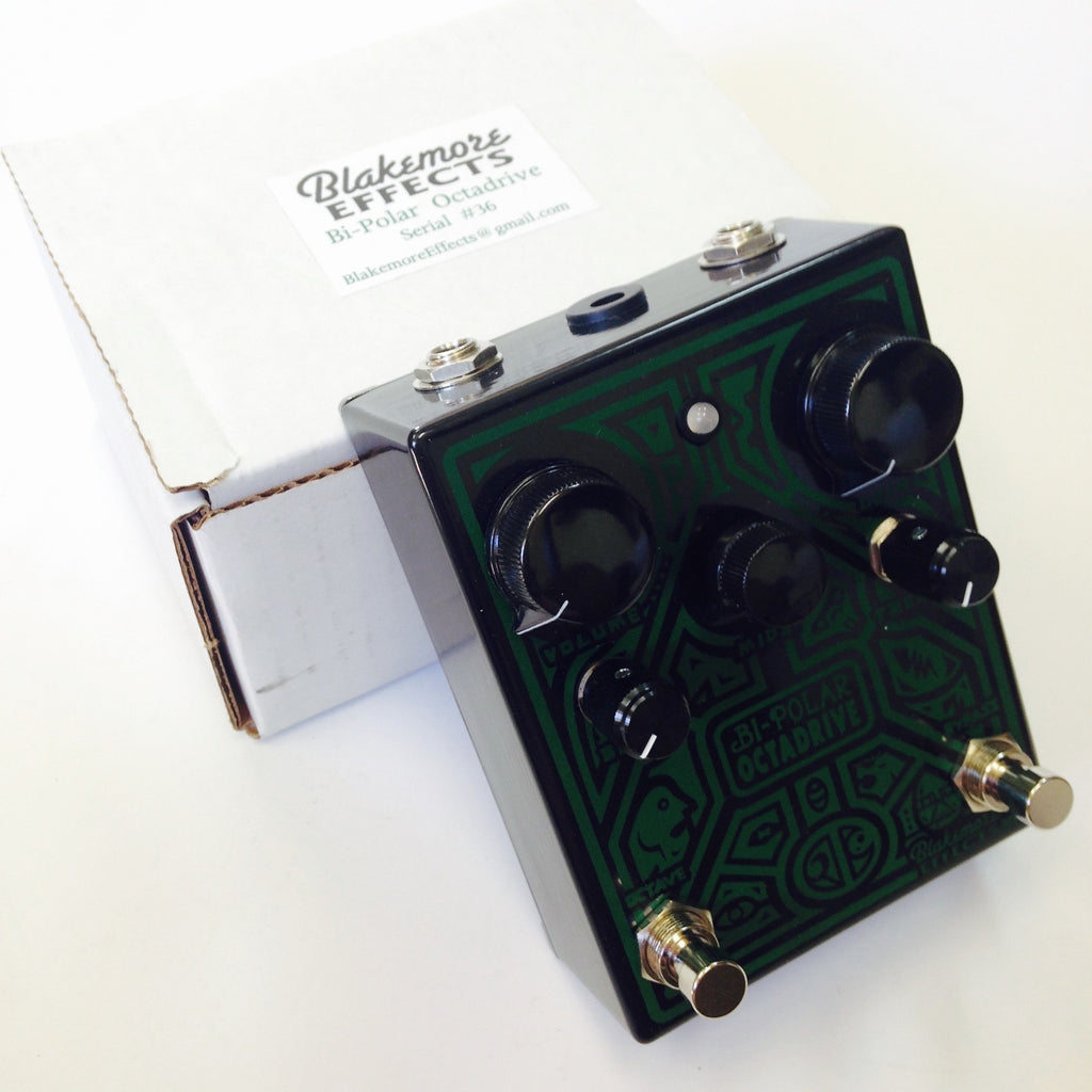 Blakemore Effects Bi-Polar Octadrive  Black/Green