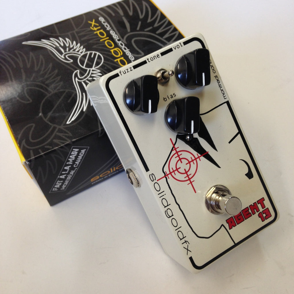 SolidGoldFX Agent 13 V2  White/Graphic