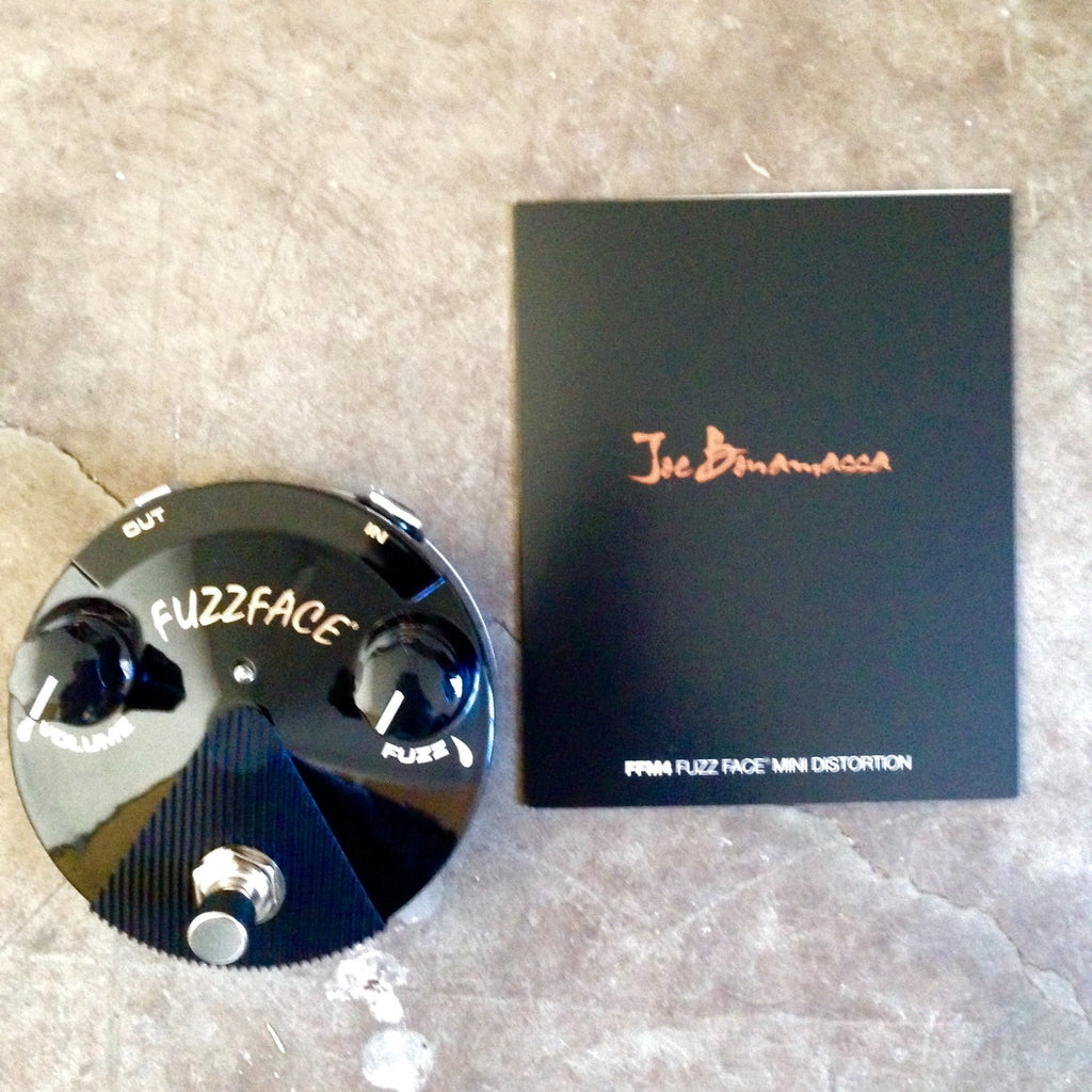 Dunlop Joe Bonamassa Signature Fuzz Face Mini Distortion   Black