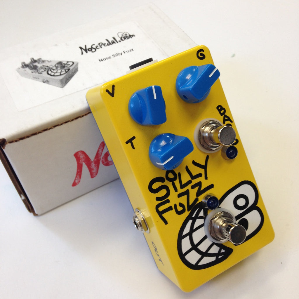 Nose Pedal Silly Fuzz  Yellow