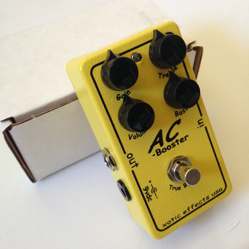 Xotic AC Booster  Yellow