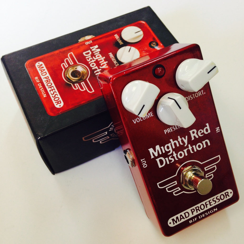 Mad Professor Mighty Red Distortion  Red/White