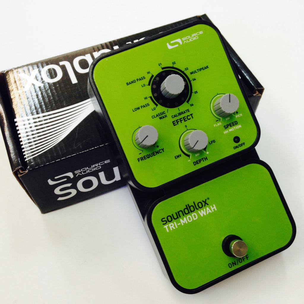 Source Audio Soundblox Tri-Mod Wah  Green/grey