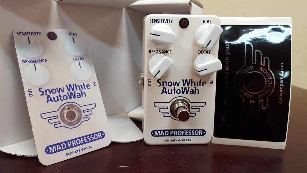 Mad Professor Snow White Auto Wah Handwired
