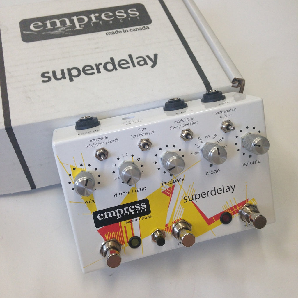 Empress Superdelay  White/Graphic