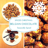 Spiced Christmas Belgian Chocolate - Gourmet Popcorn Cornude Artisan Popcorn Ireland Weddings Events Parties Marketing PR