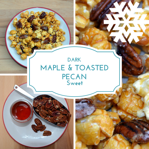 Maple & Toasted Pecan Popcorn