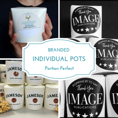 Popcorn Portion Pots - Business/Marketing/PR/Branded-Events