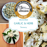 Roasted Garlic & Herb Popcorn - Gourmet Popcorn Cornude Artisan Popcorn Ireland Weddings Events Parties Marketing PR