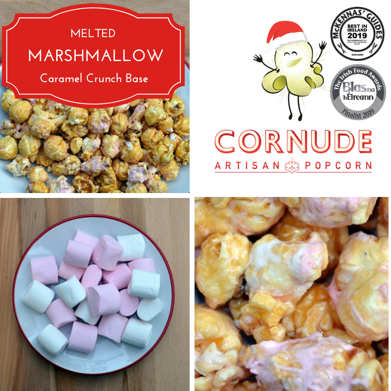Melted Marshmallow - Gourmet Popcorn Cornude Artisan Popcorn Ireland Weddings Events Parties Marketing PR
