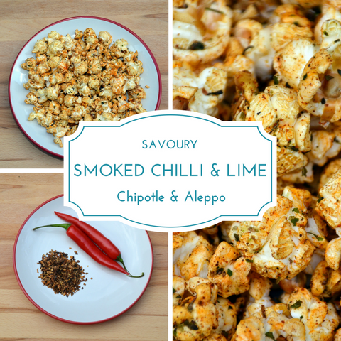 Smoked Chilli & Lime (Chipotle & Aleppo) Popcorn