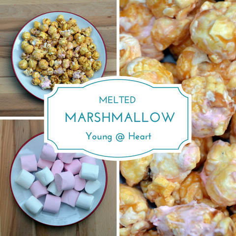 Melted Marshmallow Popcorn
