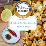 Smoked Chilli & Lime (Chipotle & Aleppo) Popcorn - Gourmet Popcorn Cornude Artisan Popcorn Ireland Weddings Events Parties Marketing PR