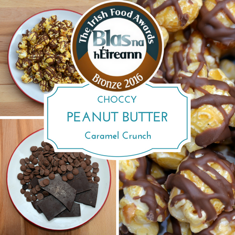 Choccy Peanut Butter Caramel Crunch