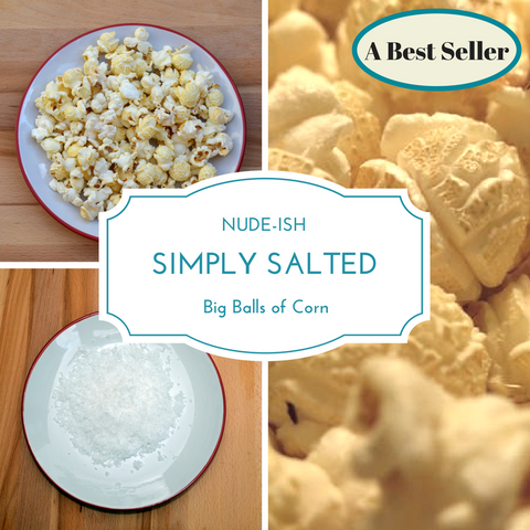 Simply Salted Popcorn