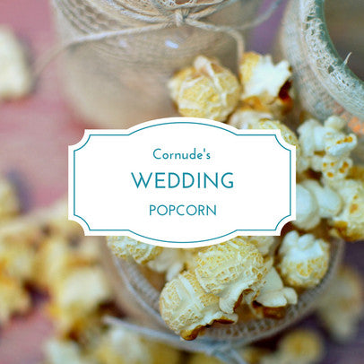 Order gourmet popcorn for weddings, parties and events